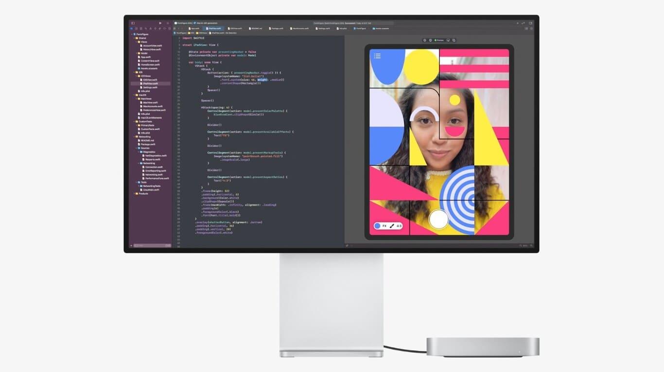 Mac-mini-2021-con-Apple-Pro-Display-XDR