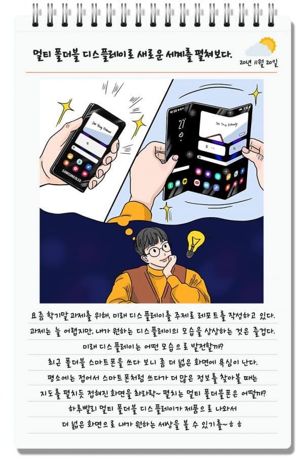 boceto-Samsung-plegable-tres-pliegues