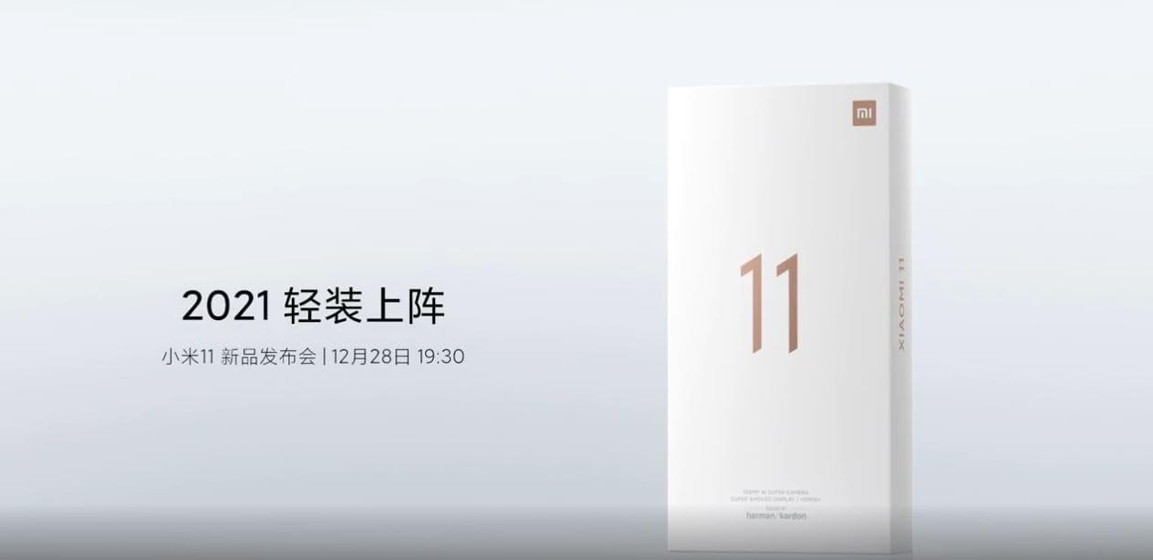 caja oficial Xiaomi Mi 11