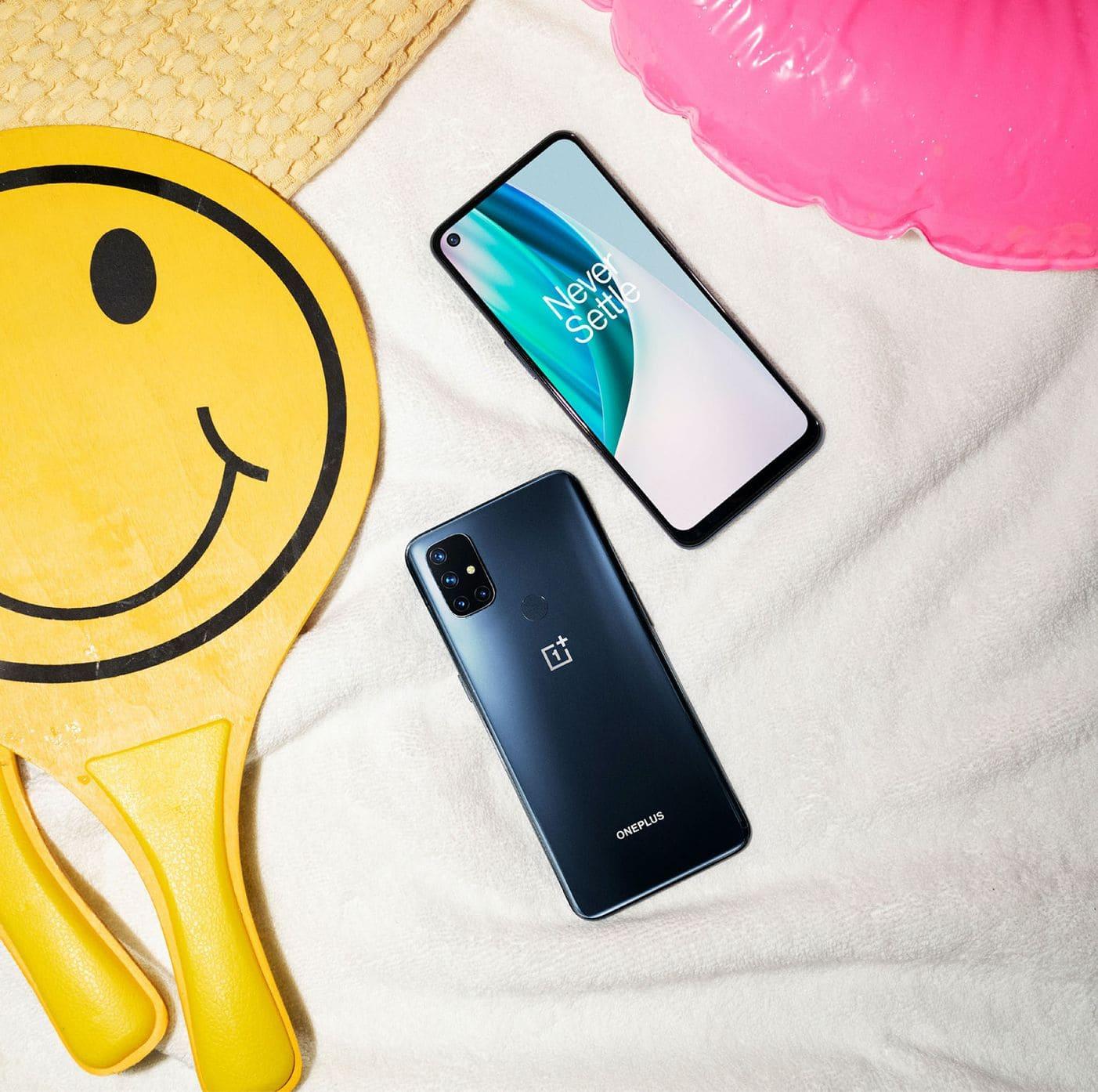 OnePlus-Nord-N10-5G-diseño-traseera-y-frontal