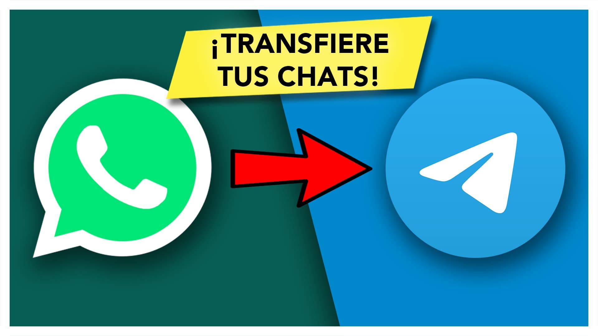 Transferir chats WhatsApp a Telegram