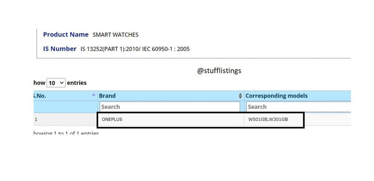 smartwacth-OnePlus-certificado-india