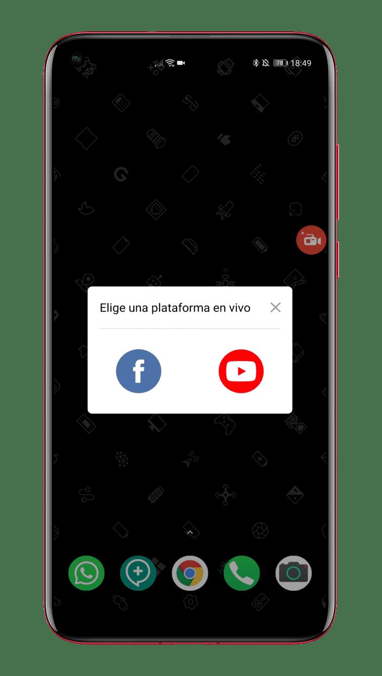 AZ-Screen-Recorder-streaming-Facebook-y-YouTube