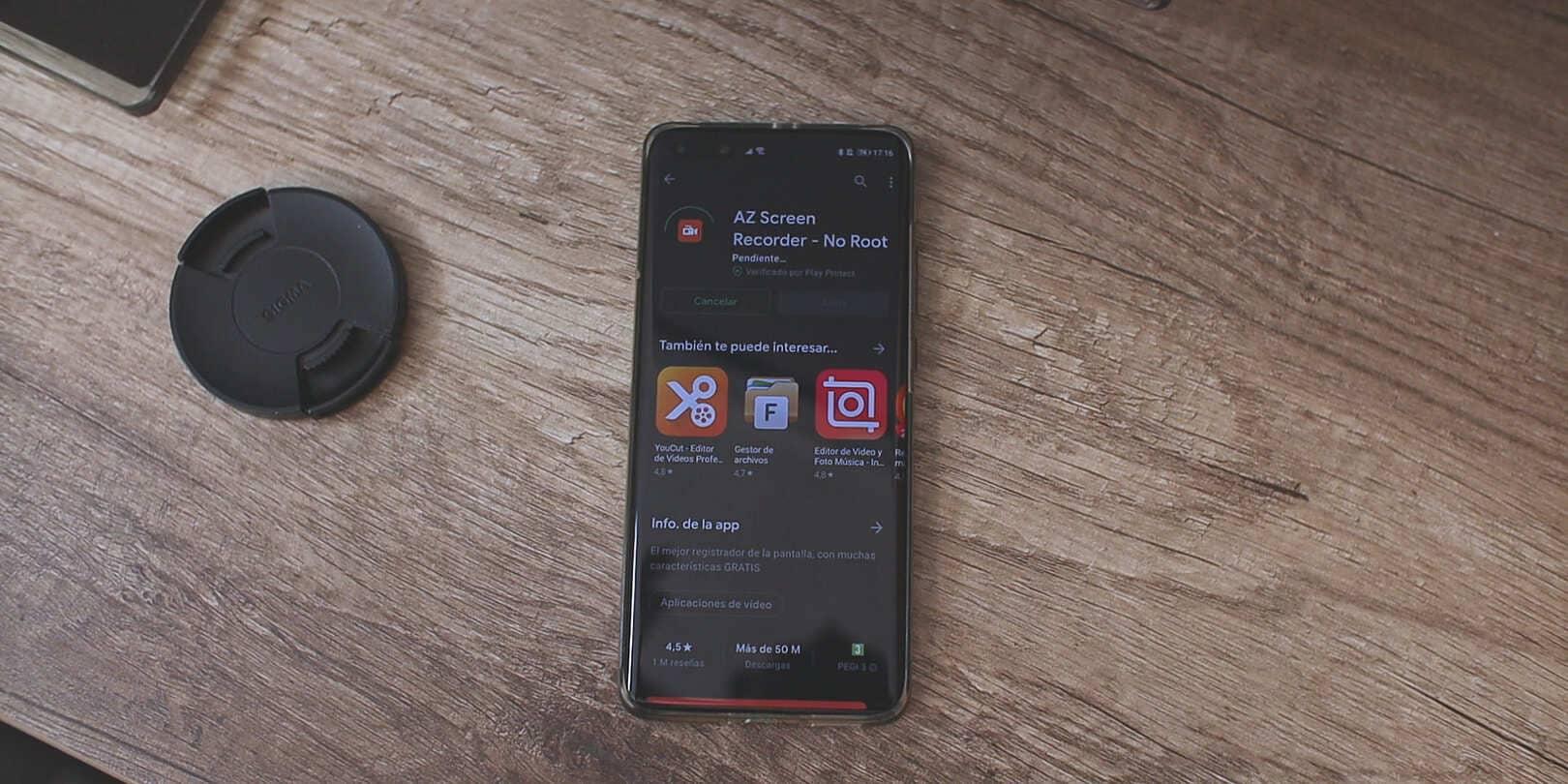Descargar-AZ-Screen-Recorder-No-Root-Google-Play