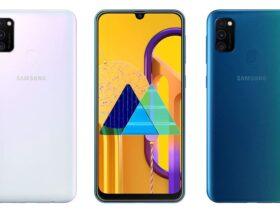 Samsung-Galaxy-M30s-diseño-trasera-y-frontal