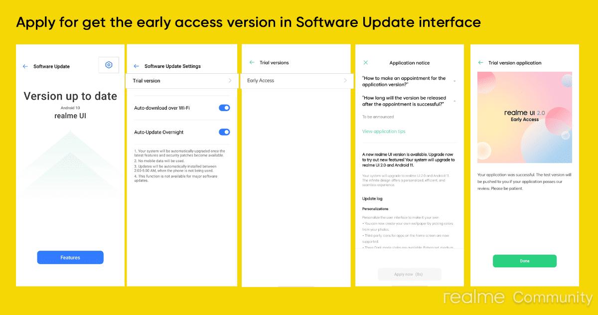 acceso-beta-Realme-UI-2.0-basado-Android-11