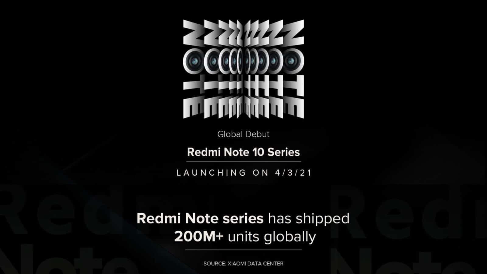 fecha lanzamiento Redmi Note 10