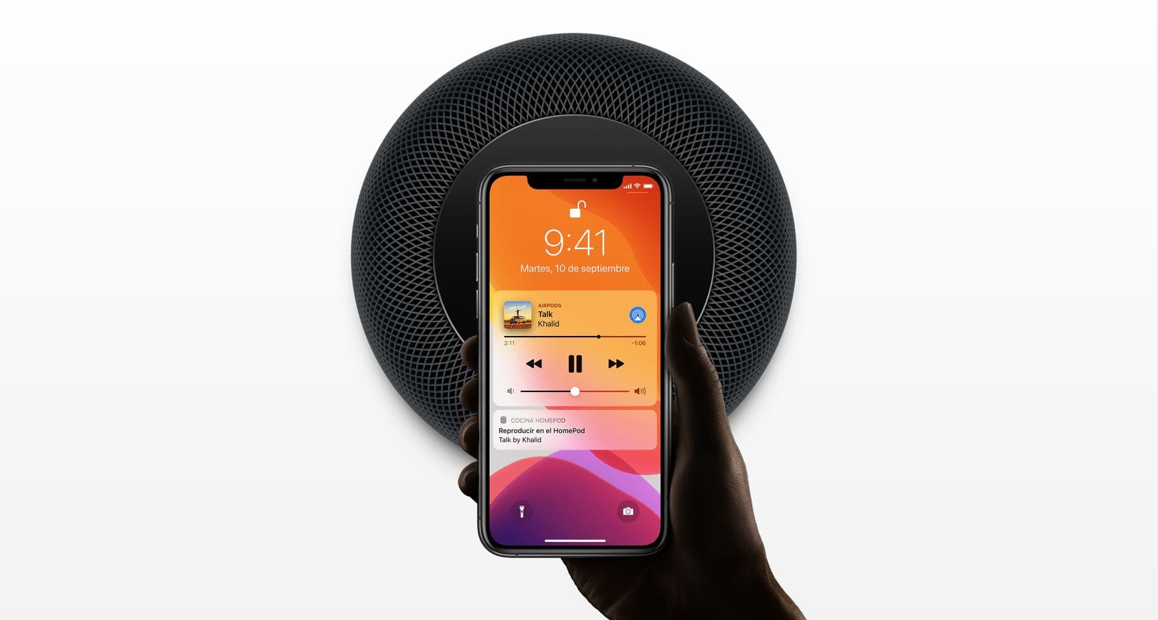 Apple HomePod altavoz inteligente