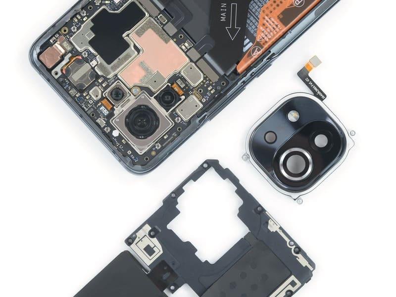desmontaje-Xiaomi-Mi-11-camaras