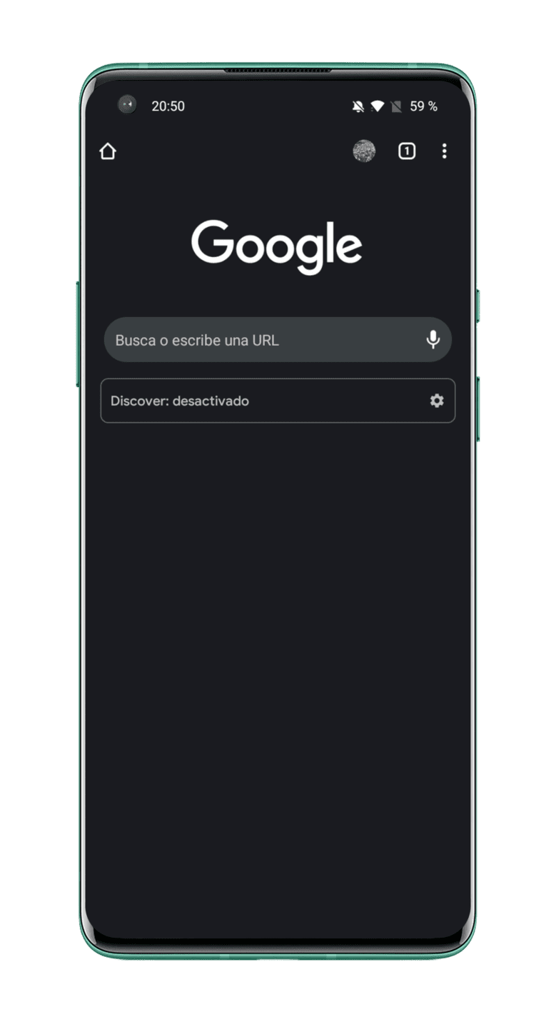 Google-como-pagina-de-inico-Chrome-Android