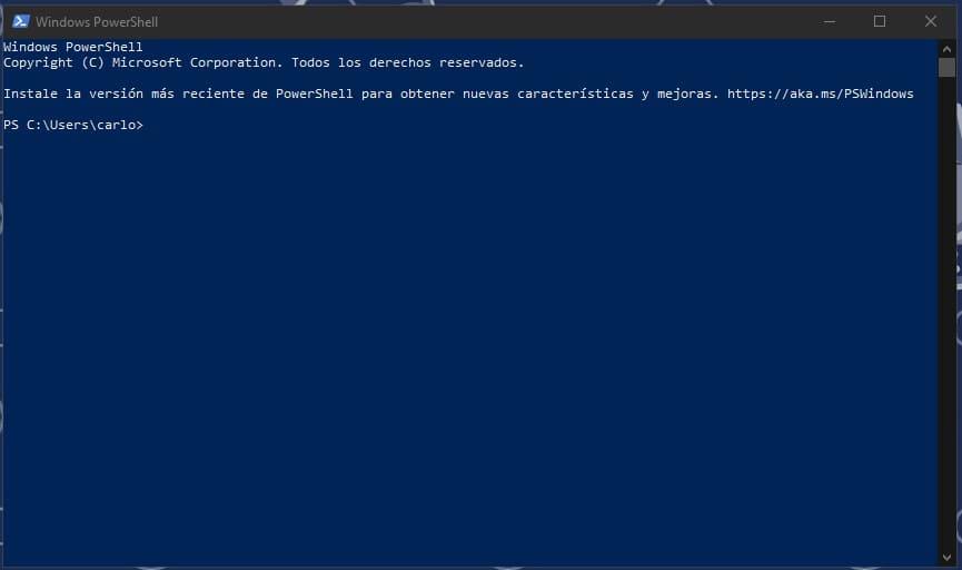 PowerShell-ventana-Windows-10