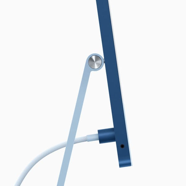 apple-nuevo-imac-m1-2021-conector-magnetico-fuente-de-alimentacion-color-azul-parte-lateral