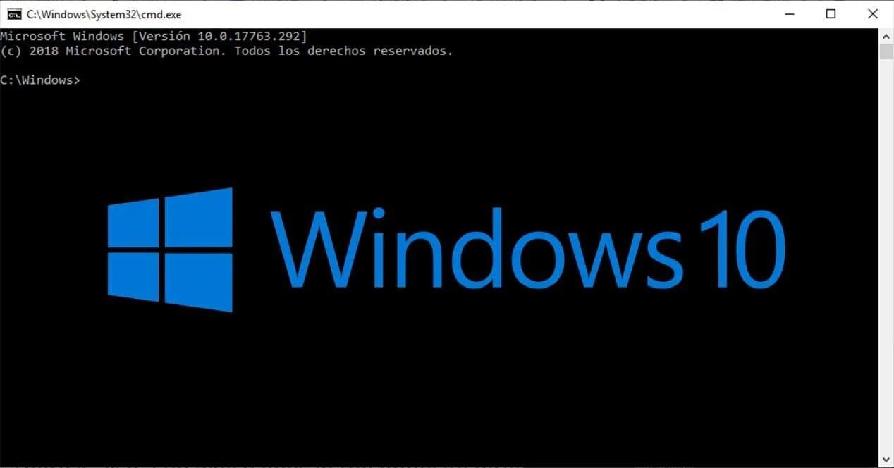 cmd windows 10 simbolo del sistema