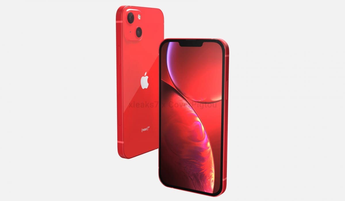 frontal-y-trasera-CAD-iPhone-13-Product-Red