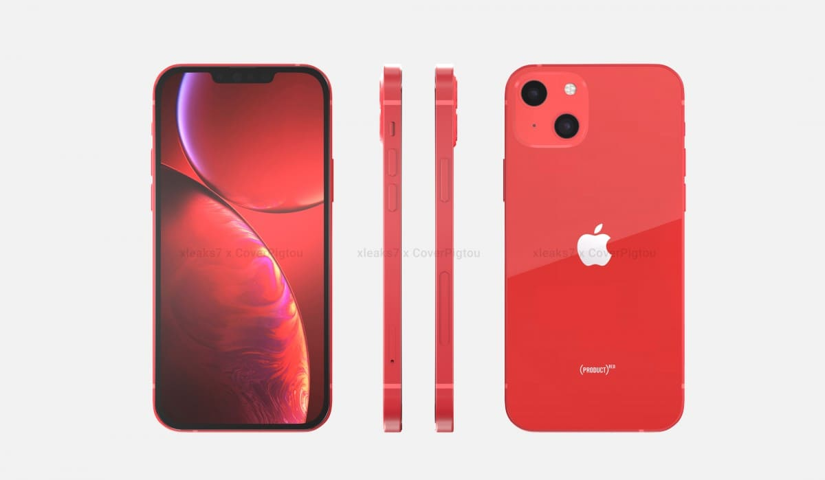 renders-iPhone-13-Product-Red-filtrados