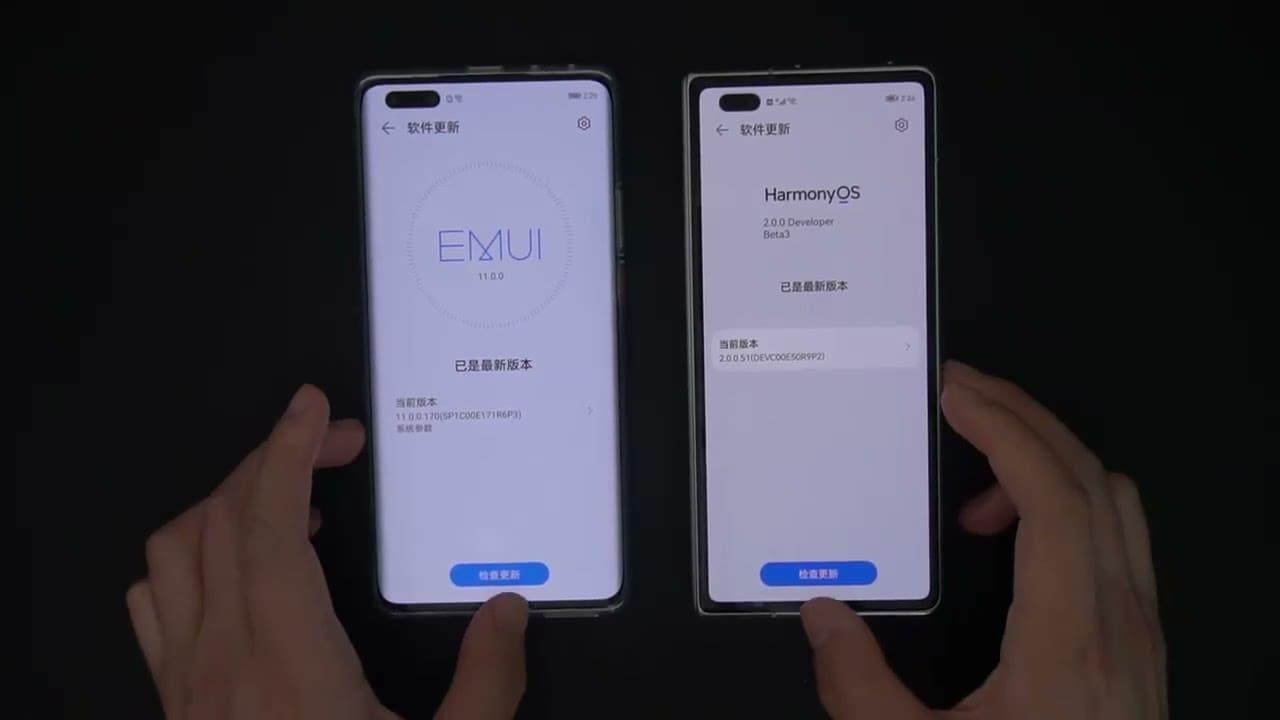 test-rendimiento-HarmonyOS-beta-vs-EMUI-11
