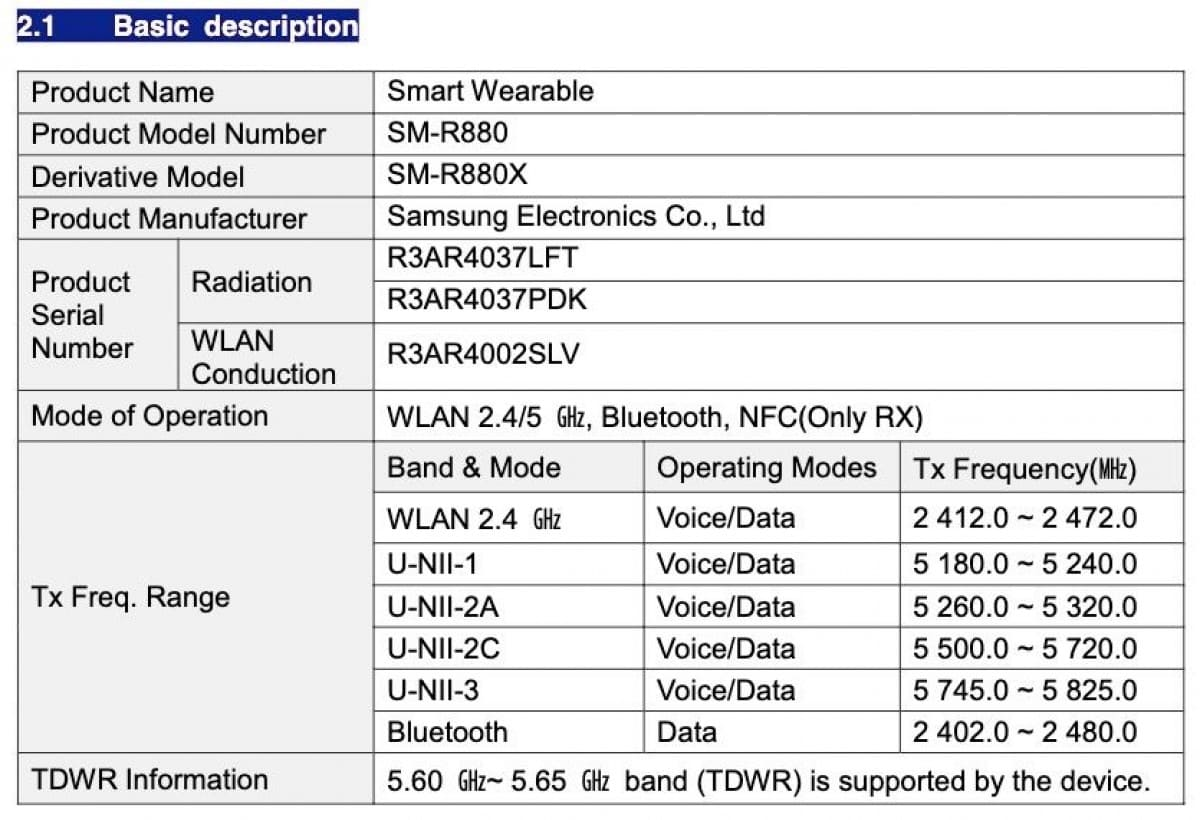 certificado-FCC-Samsung-Galaxy-Watch4