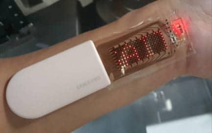 presentado prototipo parche OLED Samsung
