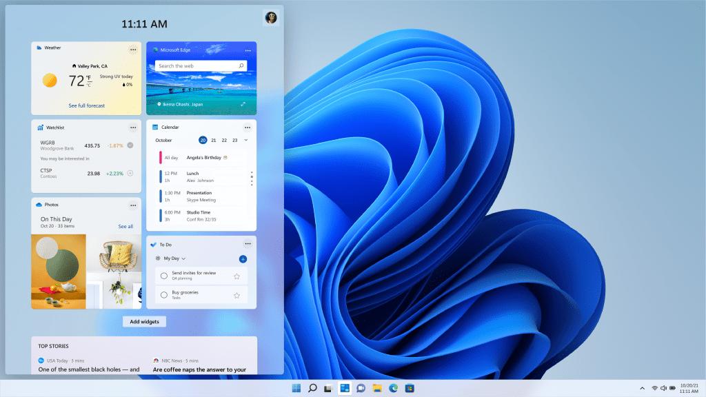 widgets-Windows-11
