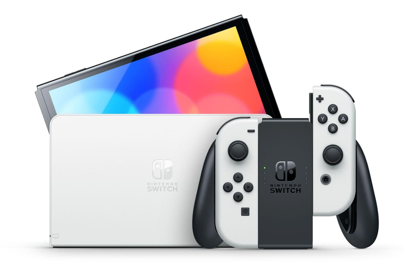 Nintendo-Switch-pantalla-OLED-con-dock-tele