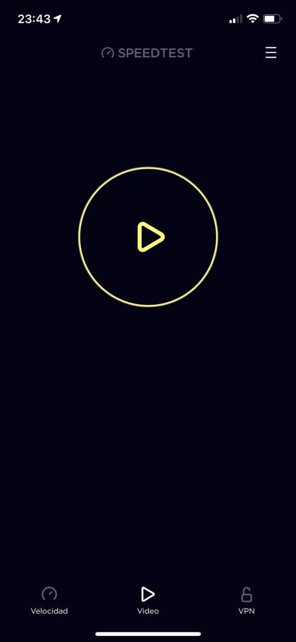 Speedtest-inicio-test-video