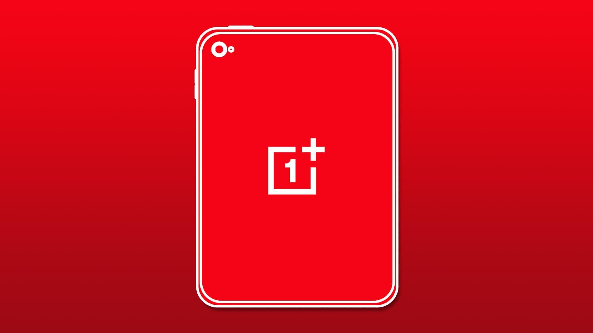oneplus tablet render