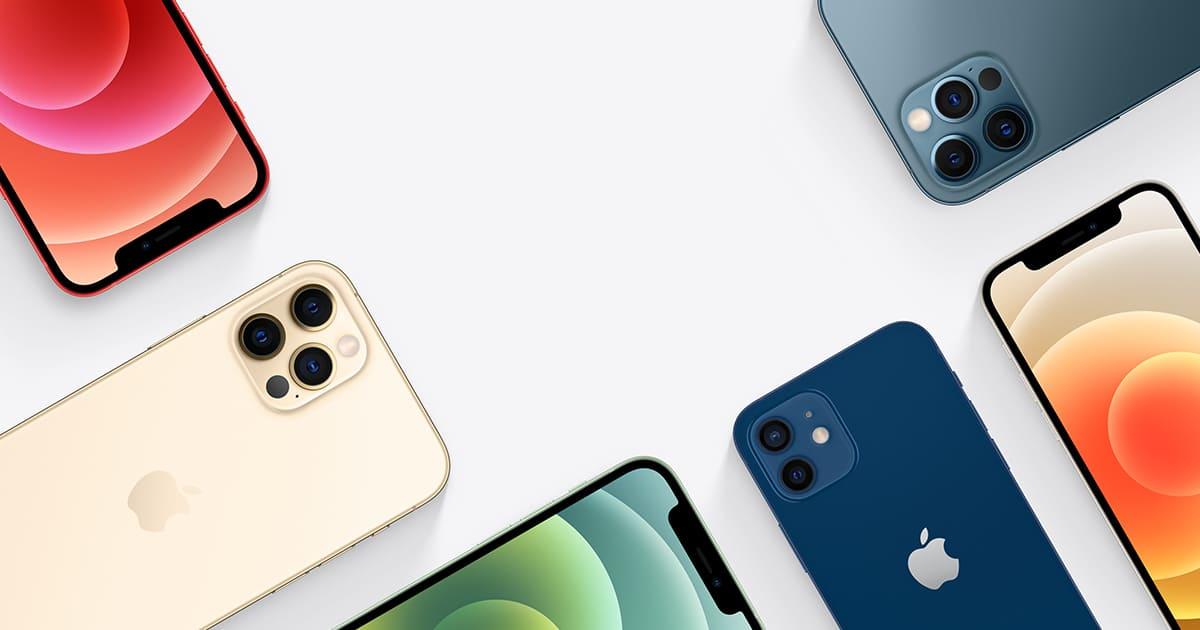 dispositivos gama iphone 12
