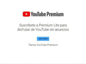 promocion YouTube Premium Lite