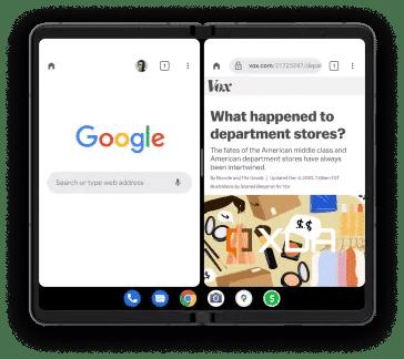 Android-12.1-Taskbar-smartphone-plegable-filtrado