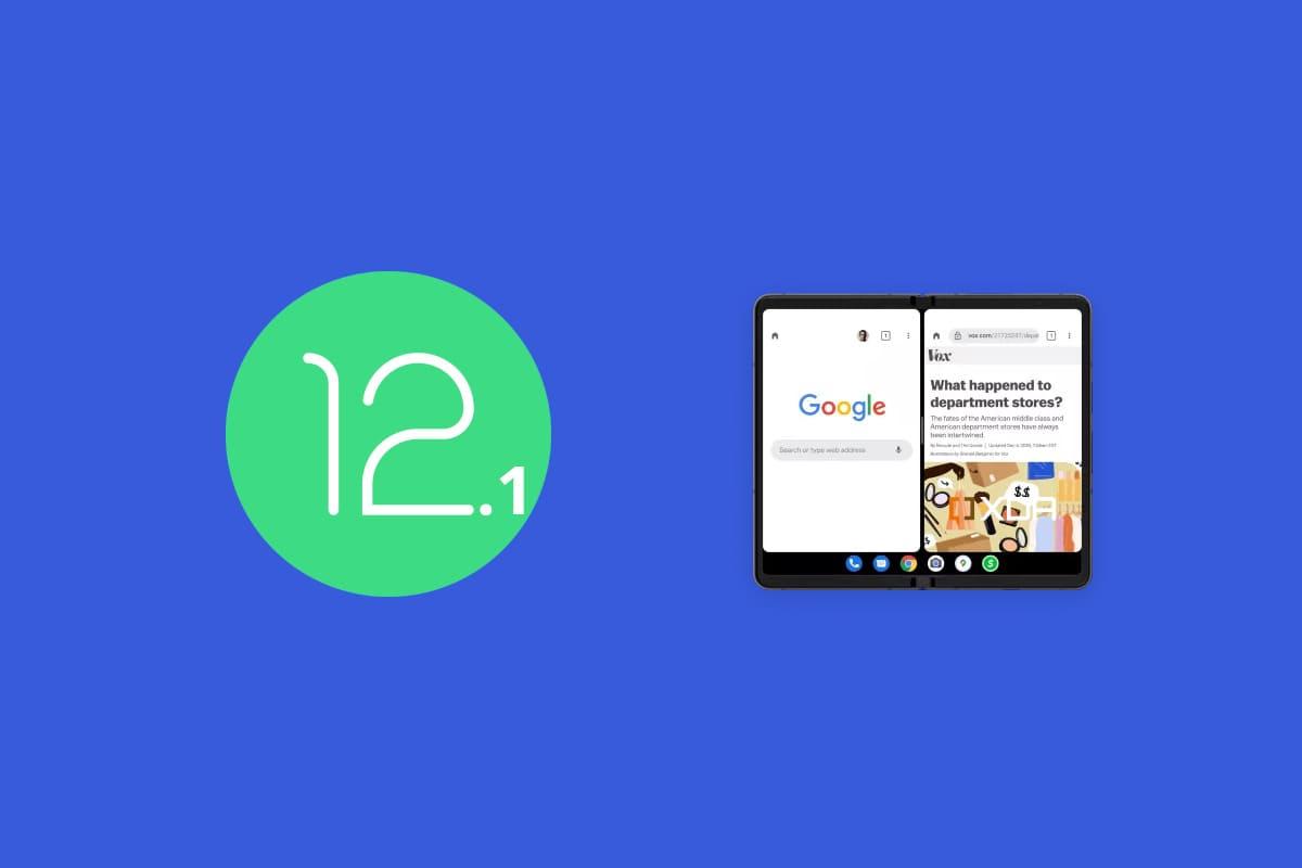 Android 12.1 funcionalidades telefonos plegables