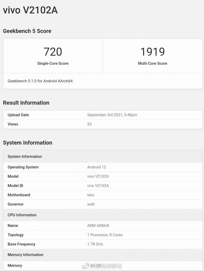 GeekBench-filtrado-Qualcomm-Snapdragon-989