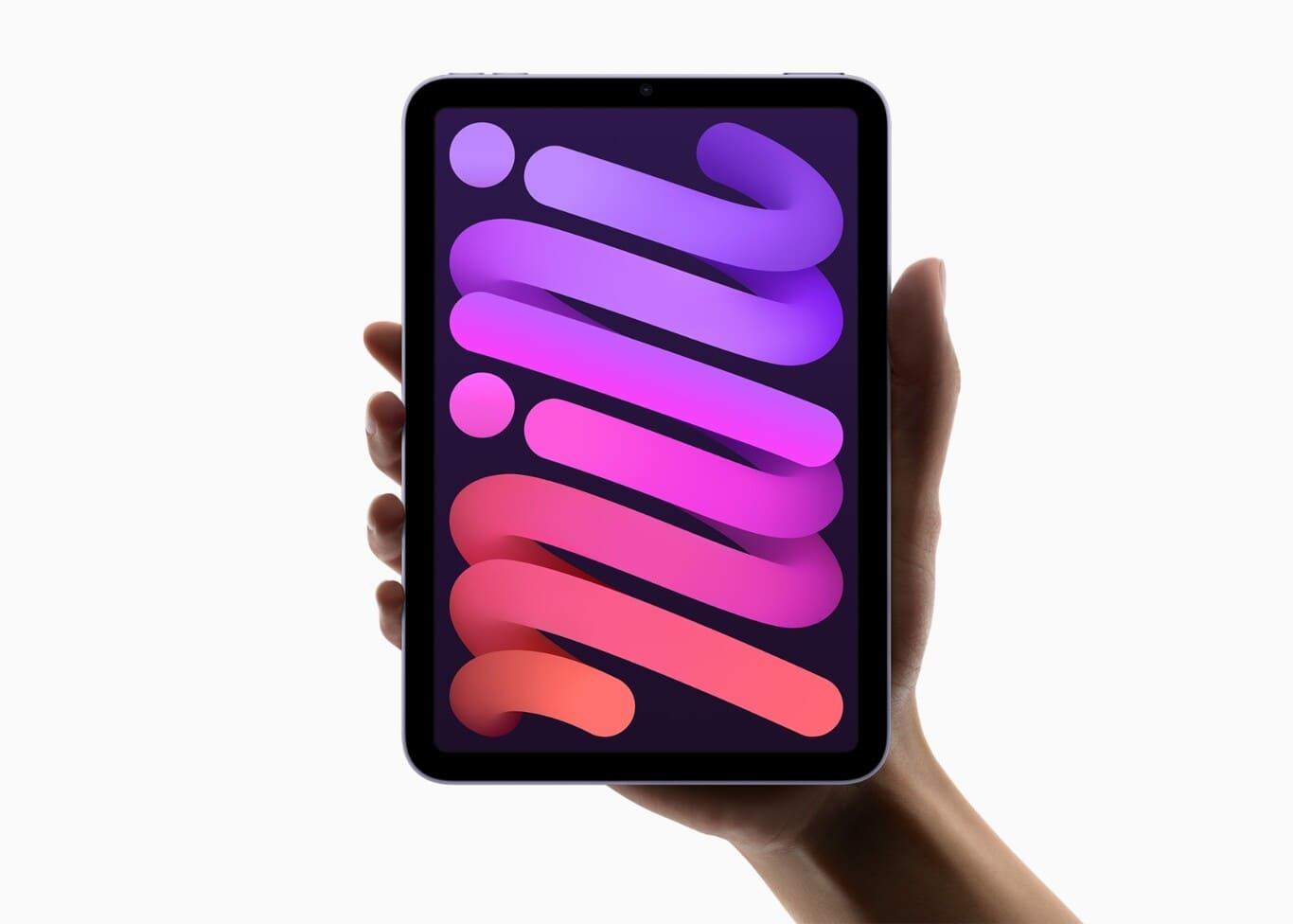 diseño-frontal-iPad-Mini-2021