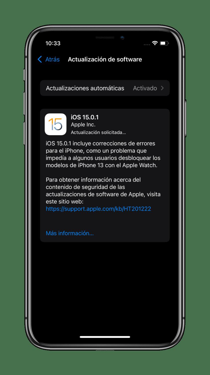 actualizacion-iOS-15.0.1
